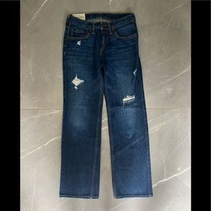 2 for$40 Abercrombie Kids boy's jeans, barely worn